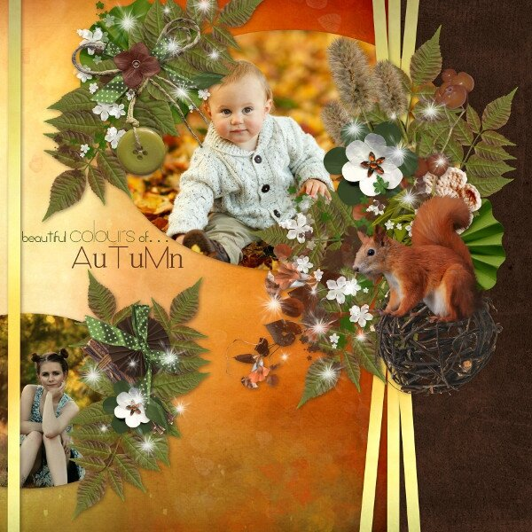 kit Autumn in Love de Leaugoscrap - template 2 pack 3 de Flomelle - photo Pixabay