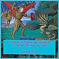 DIA 1 - Novena de Libertação com o Arcanjo Miguel