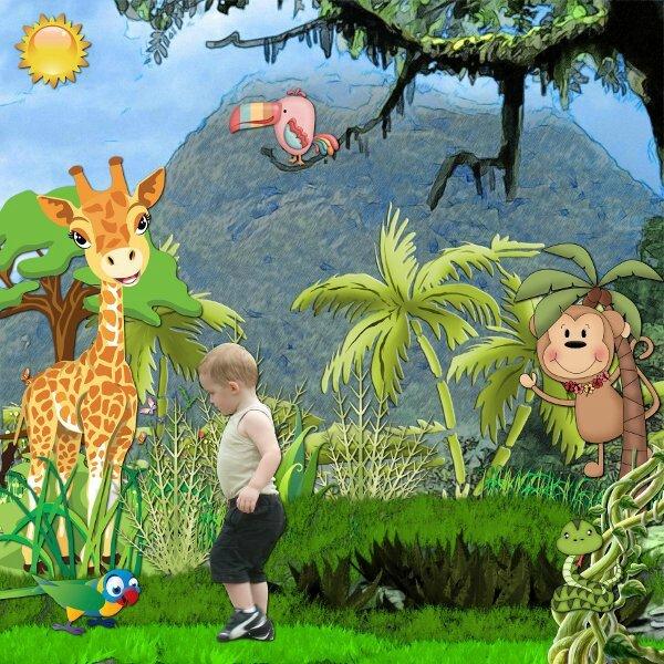 kit little safari de Desclics - rak photo de Desclics