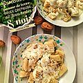 Gnocchis de pomme de terre sauce crémeuse ail & fines herbes