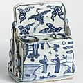 Brush and Ink <b>Stick</b> Stand, Ming dynasty, Wanli Period (1573-1620)
