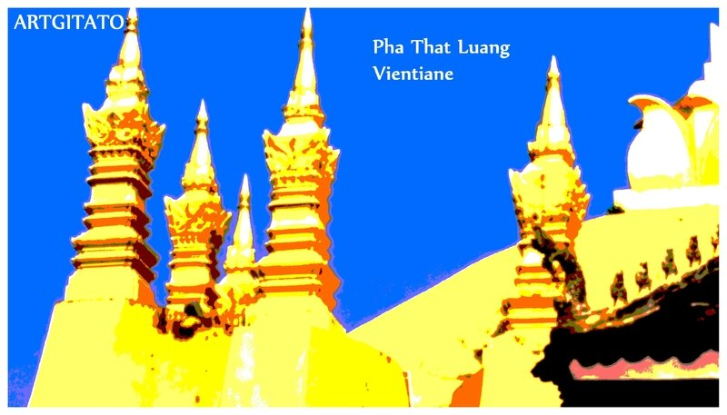 Pha That Luang Vientiane Artgitato 7