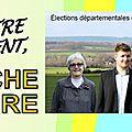 Agenda : Action en cours - Elections Départementales - Canton Arpajon