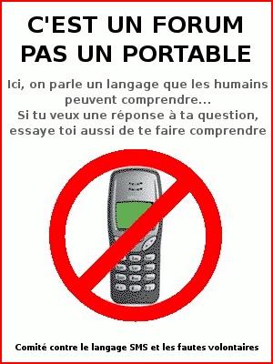 Langage SMS / texto interdit ! 47757313_m