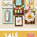 LA grande offre Sale-a-Bration de Stampin'up