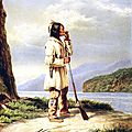 CANADA - LES HURONS - HISTOIRE