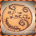 Entremets aux speculoos