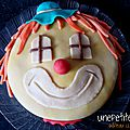 <b>Gâteau</b> clown