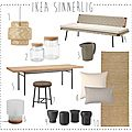 • Nouvelle collection Sinnerlig pour IKEA •