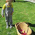 Première chasse à l'œuf!