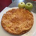 Pudding aux <b>pommes</b>