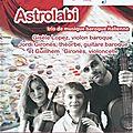 Concert du 4 février 2018 Trio Astrolabi
