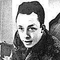 <b>Albert</b> <b>Camus</b>, dans l'humilité de la distinction