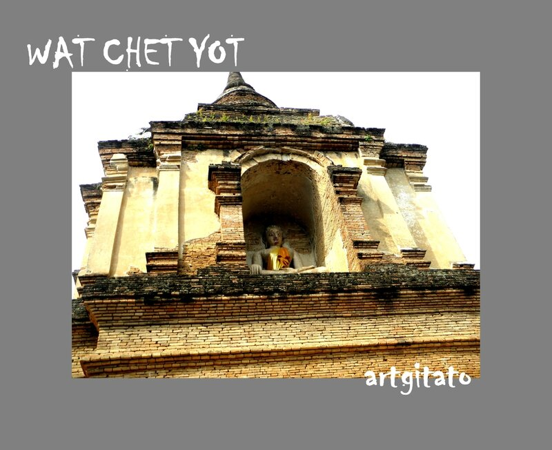 Wat Chet Yot Wat Chedyod Chiang Mai Thailande Thailand 11