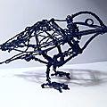 Sculpture oiseau