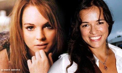 Lindsay Lohan et Michelle Rodriguez