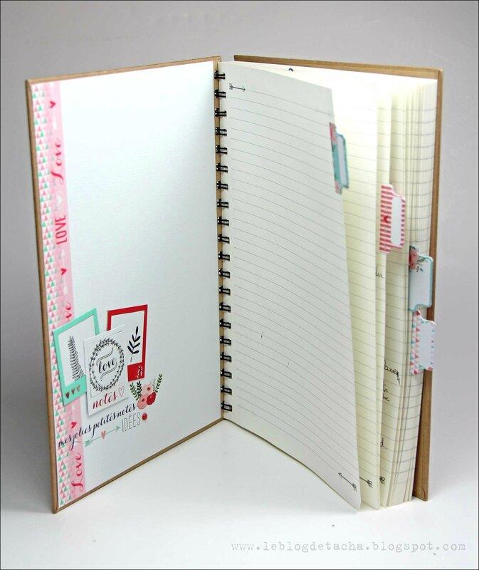 Cahier de création Lovely flowers - DT Tacha 3bp