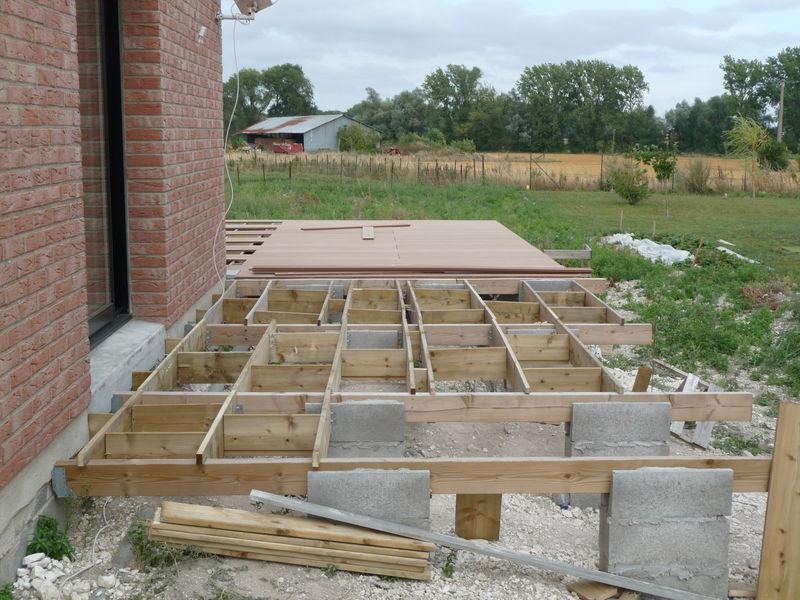Comment construire terrasse la r ponse est sur - Construction d une terrasse ...
