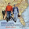 Les Hoboes, duo folk, blues, country acoustique le long des voies ferrées