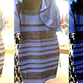 The mysterious dress