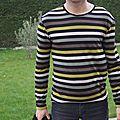 Le vestiaire de l'<b>homme</b> #5: le t-shirt (chromathérapie noir/gris #1)