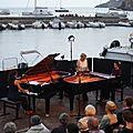 Gala d'ouverture du 10 ièm festival de Collioure le 26 juin 2017. Duo Jatekok. petite vidéo pour terminer