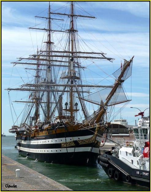L'Amerigo Vespucci au Havre 55648638