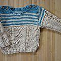 Eco-laine de Plassard pour refaire le pull