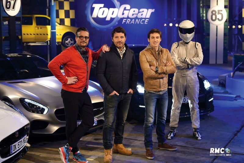 TOP GEAR France (RMC) Bandeau