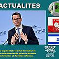 Le Premier ministre polonais vivement critiqué après avoir évoqué «les auteurs juifs» de la Shoah