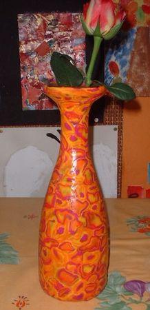 un vase en pate fimo 26909048_p