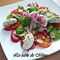 * La table