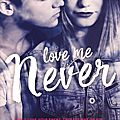 Lovely Vicious #1 : Love Me Never, Sara Wolf