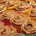 <b>Cupcakes</b> banane-nutella