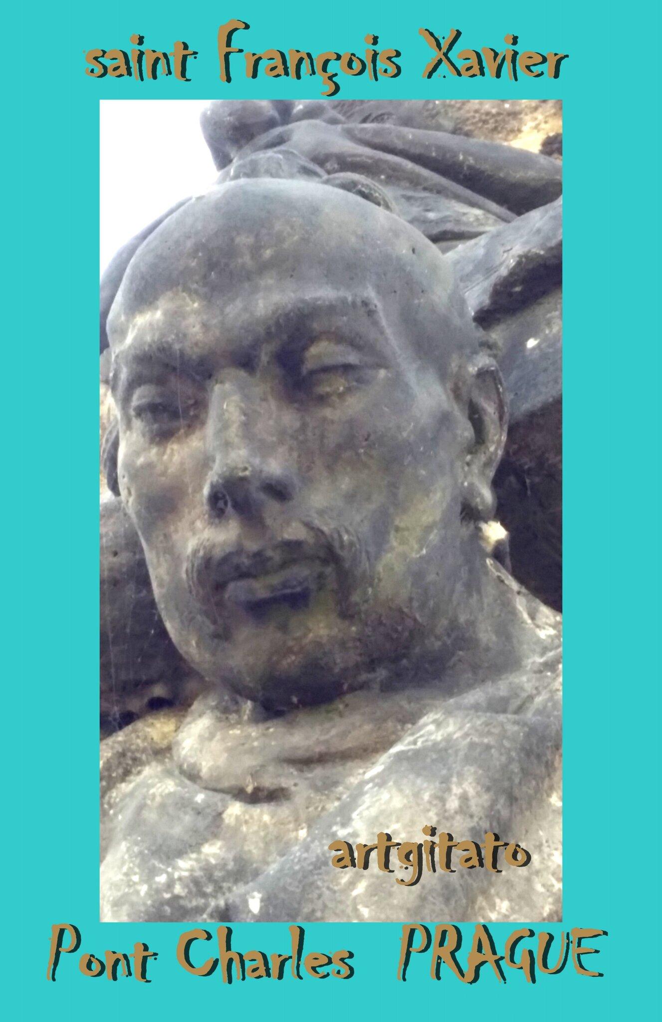 saint François Xavier Pont Charles Prague Artgitato 3