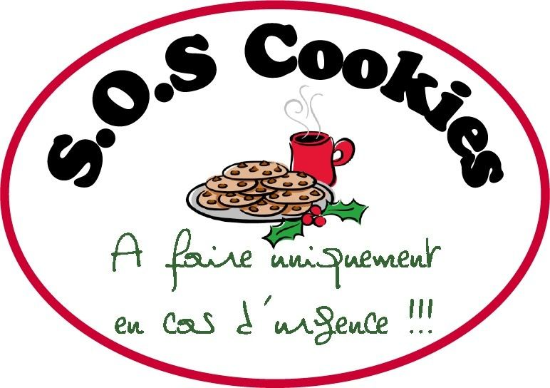 Sehr S.O.S Cookies, ma version… - Recette YS16