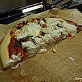 Pizza <b>boeuf</b> haché, oignon et boursin cuisine