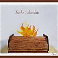 <b>Bûche</b> 3 chocolats