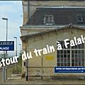 Falaise, une gare nouvelle pour un pays nouveau