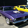 Plymouth 'Cuda 340 hardtop coupe-1974