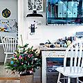 Une <b>déco</b> de <b>Noël</b> colorée, créative et pleine d'humour