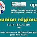 Réunion régionale UPR à Treignac (<b>Corrèze</b>) aujourd'hui à 14h