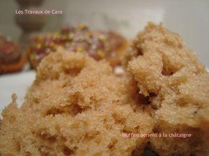 muffins aériens châtaigne 2
