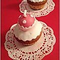 <b>Cupcakes</b> Boules de Noël