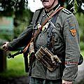 nous étions des soldats en 39/45 , BIG MOUSTACHE ,wehrmacht attitude ,reconstitution multi époque de coudekerque