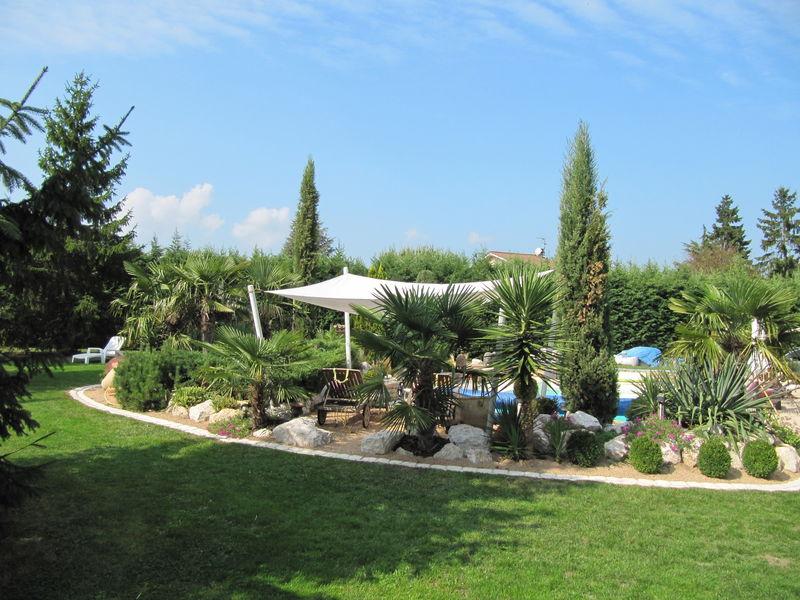 Autour de la piscine par jcgb au jardin forum de jardinage - Deco autour de la piscine ...