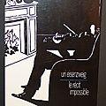 Le récit impossible, forme et sens du roman <b>policier</b> - Uri Eisenzweig