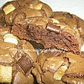 outrageous cookies chocolat