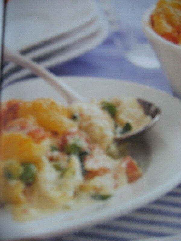 gratin de pates au jambon et au fromage recette