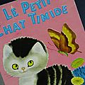 Livre ... Le <b>petit</b> <b>Chat</b> timide (1955)